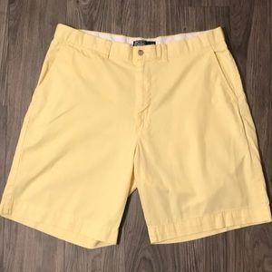Yellow Ralph Lauren Khaki Shorts